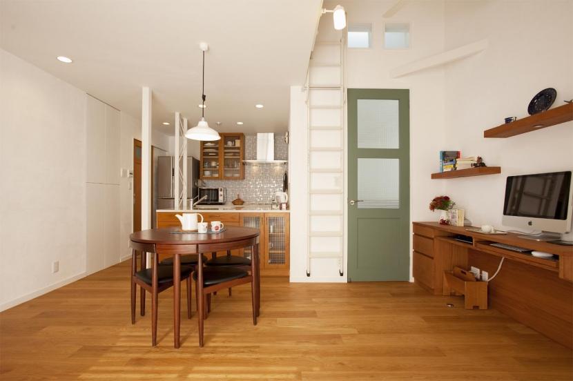 O様邸・楽しくコンパクトに二世帯で暮らすための家の部屋 ダイニングキッチン