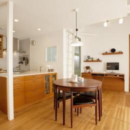O様邸・楽しくコンパクトに二世帯で暮らすための家 (LDK)