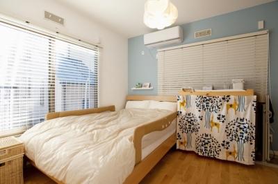 ベッドルーム (O様邸・楽しくコンパクトに二世帯で暮らすための家)