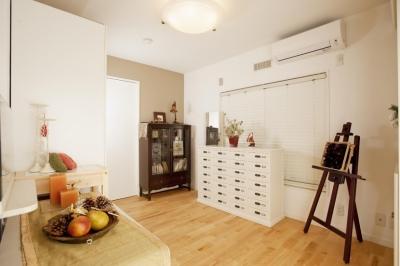 趣味部屋(子供部屋) (O様邸・楽しくコンパクトに二世帯で暮らすための家)