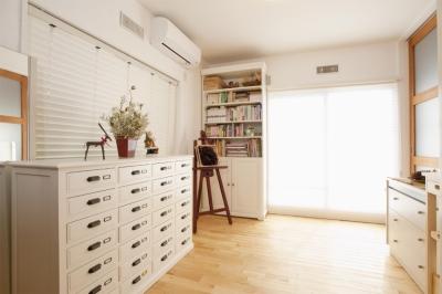 趣味部屋2(子供部屋) (O様邸・楽しくコンパクトに二世帯で暮らすための家)