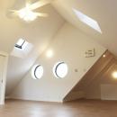 N邸・こだわりのシンプルナチュラル空間の写真 ロフト
