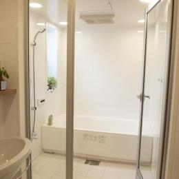 N邸・こだわりのシンプルナチュラル空間 (3F・バスルーム)