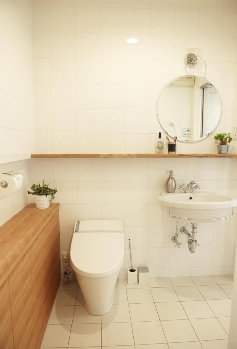 N邸・こだわりのシンプルナチュラル空間の写真 3F・バスルーム