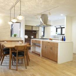 リノベーション・リフォーム会社 スタイル工房の住宅事例「N邸・こだわりのシンプルナチュラル空間」