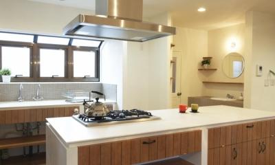 N邸・こだわりのシンプルナチュラル空間 (キッチン)