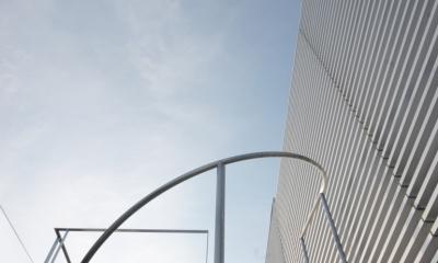 横浜のコートハウス (螺旋階段上)