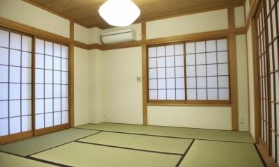 N邸・こだわりのシンプルナチュラル空間 (1F・和室)