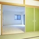 N邸・こだわりのシンプルナチュラル空間の写真 1F・和室続きの事務所