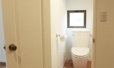 N邸・こだわりのシンプルナチュラル空間 (1F・トイレ)