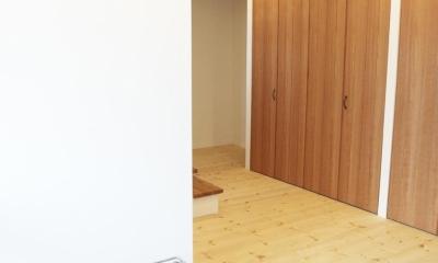 N邸・こだわりのシンプルナチュラル空間 (玄関2)