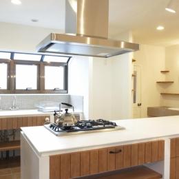 2F・キッチン-2 (N邸・こだわりのシンプルナチュラル空間)