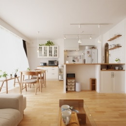 リフォーム・リノベーション会社 スタイル工房の事例「SU邸・明るくさわやかに ここから始まる2人の暮らし」