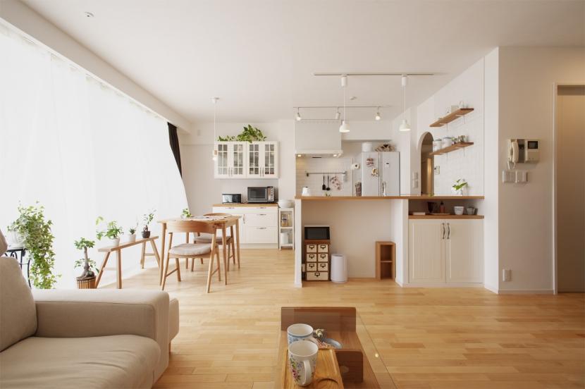 リノベーション・リフォーム会社:スタイル工房「SU邸・明るくさわやかに ここから始まる2人の暮らし」