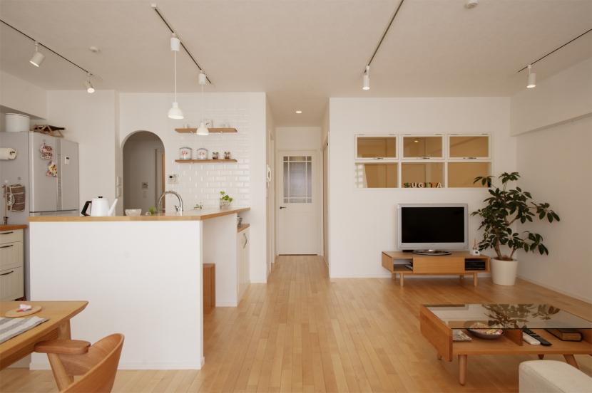リフォーム・リノベーション会社:スタイル工房「SU邸・明るくさわやかに ここから始まる2人の暮らし」