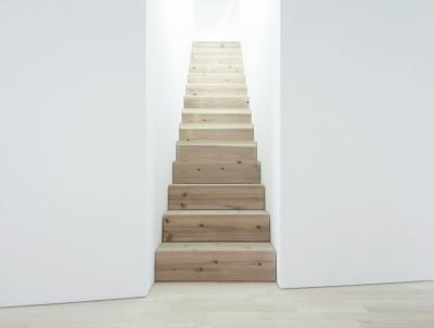 清州の家 - 階段 (K House / 清州の住宅 木造築37年のリノベーション)