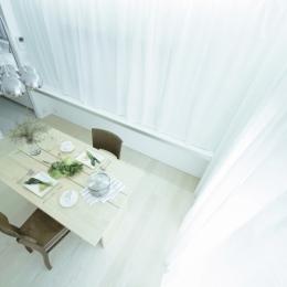 K House / 清州の住宅 木造築37年のリノベーション (清州の家 - リビングダイニング)