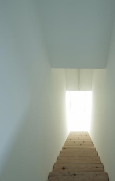 清州の家 - 階段2 (K House / 清州の住宅 木造築37年のリノベーション)