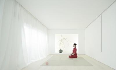 清州の家 - リビング(和) (K House / 清州の住宅 木造築37年のリノベーション)