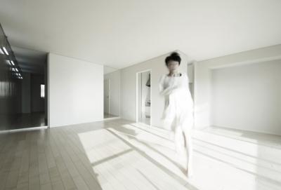 Room 402 - マンションリノベーション (CSM - リビング2)
