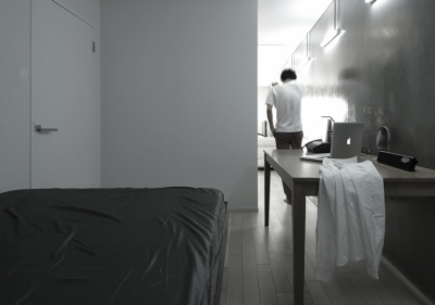 CSM - ベッドルーム (Room 402 - マンションリノベーション)