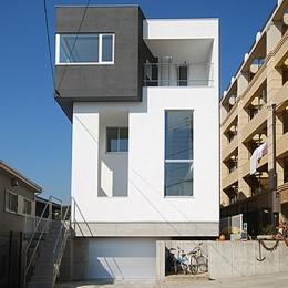 横須賀の住宅 (外観)