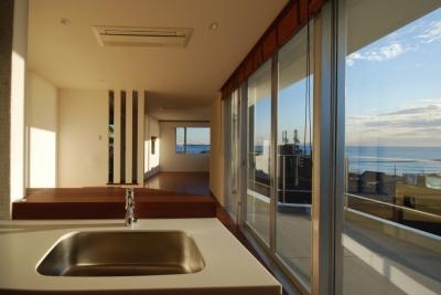 横須賀の住宅 (キッチン)