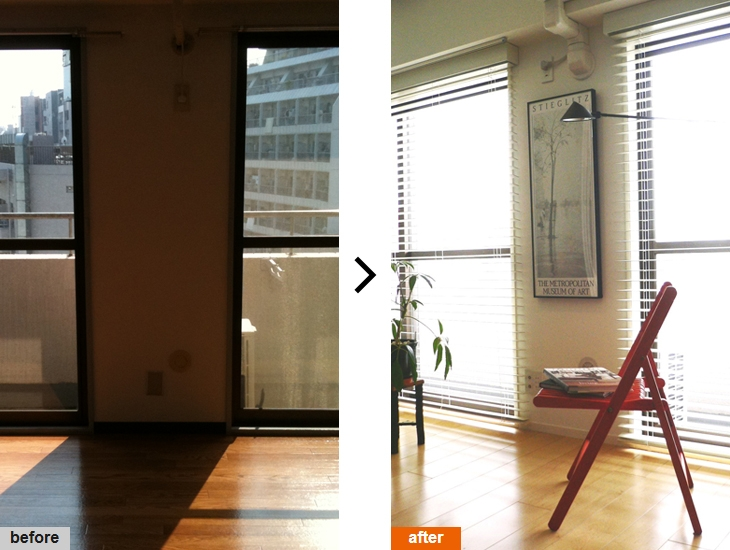 リフォーム・リノベーション会社:M2.F「SOHO 一人暮らしの充実リノベーション」