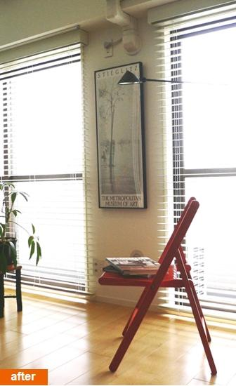 SOHO 一人暮らしの充実リノベーションの写真 コストパフォーマンスを大切にし、シンプルな居室に