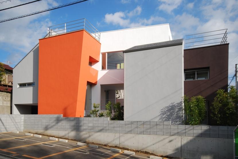 建築家:相坂研介「宮坂の二世帯住宅」