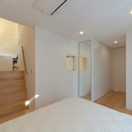 宮坂の二世帯住宅 (兄棟寝室)