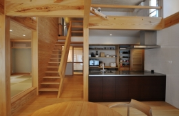 ピアノのある家 (キッチン)