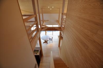 ピアノのある家 (階段ホール)