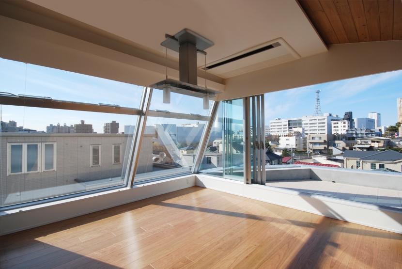 建築家:相坂研介「目黒の二世帯住宅」