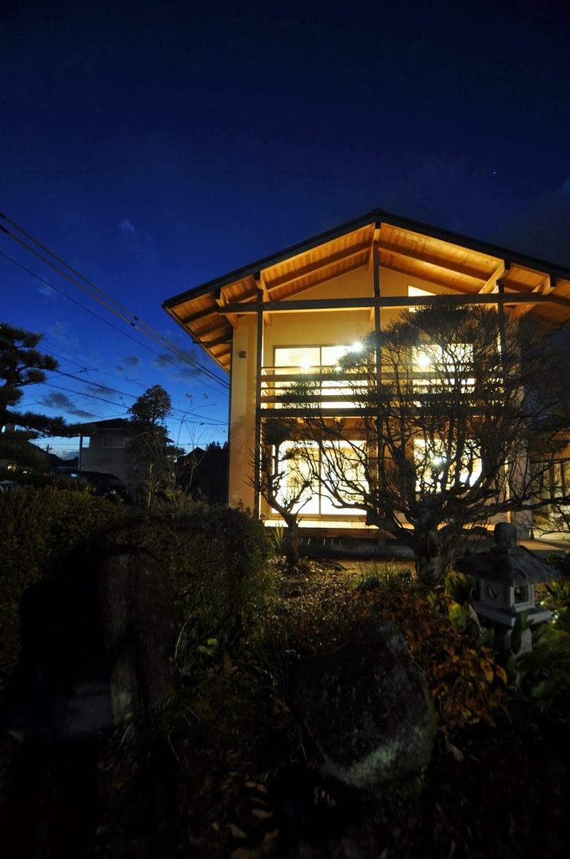 大工と作る家の部屋 外観(庭から)