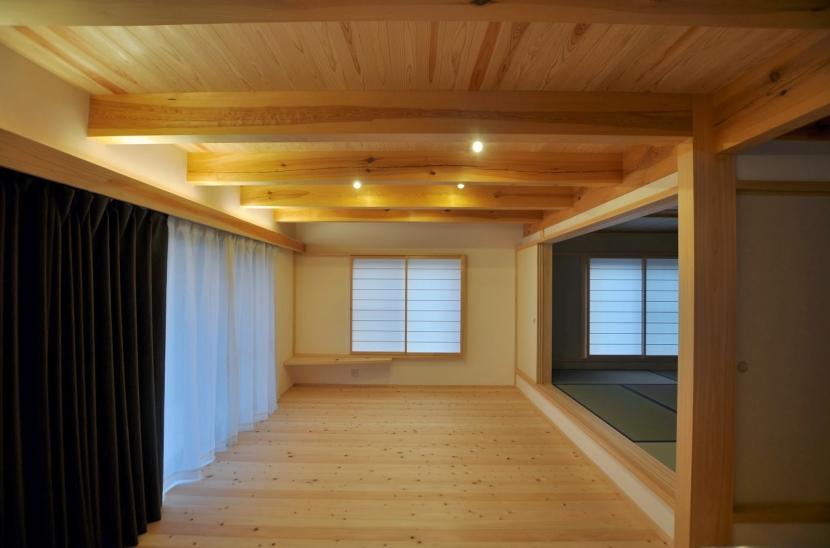 大工と作る家の部屋 居間