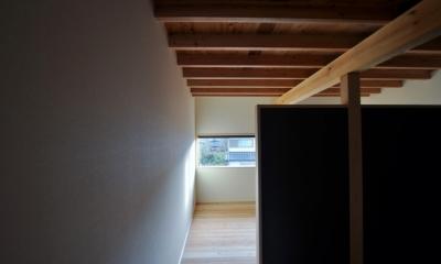 八百津の木組み (寝室)