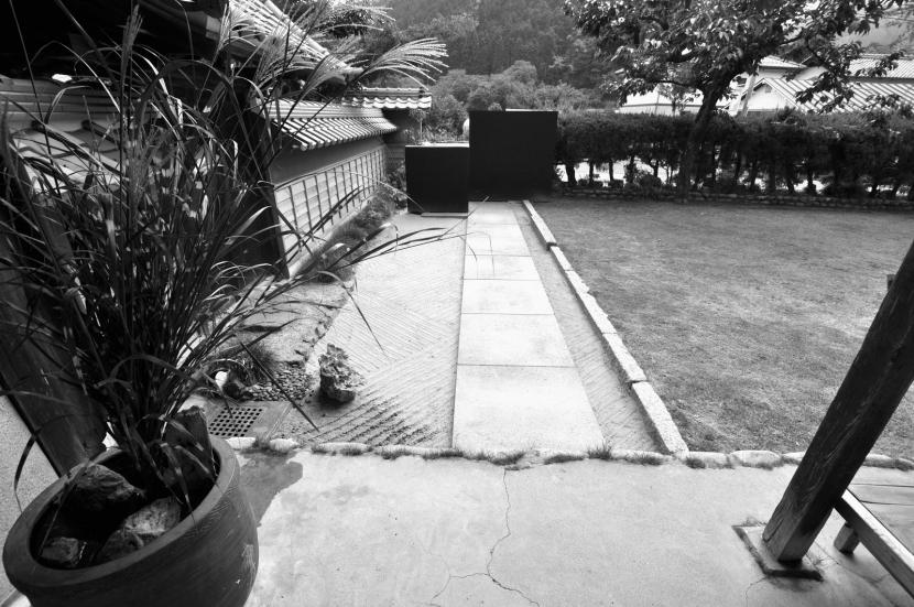 建築士の家の写真 石畳