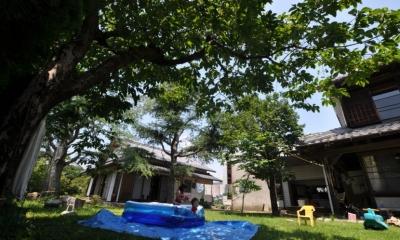 建築士の家 (庭)