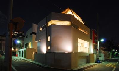 目黒の二世帯住宅