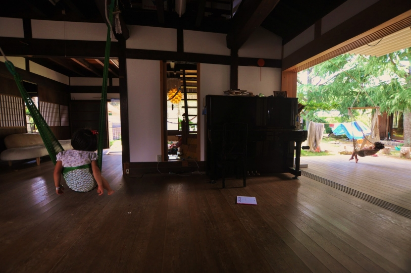 建築士の家の部屋 リビング