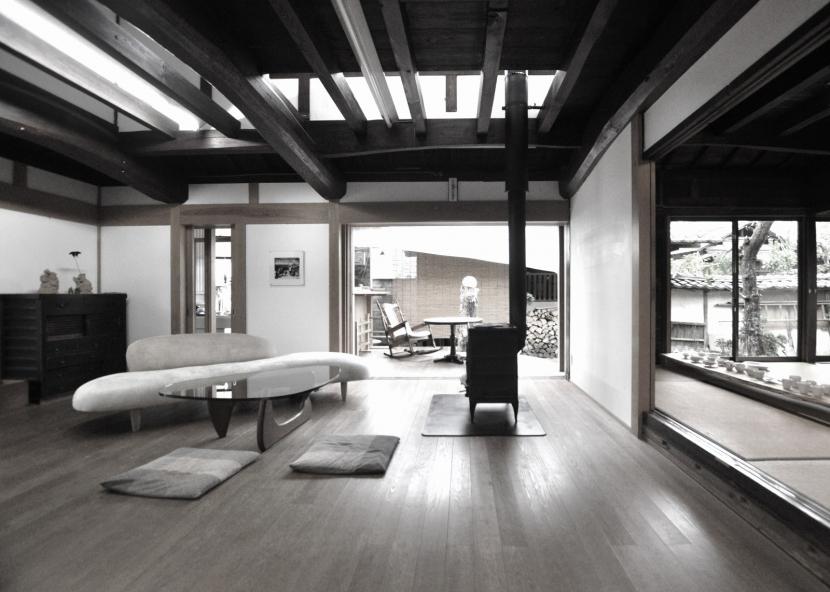 建築士の家の写真 リビング