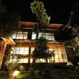 建築士の家-坪庭