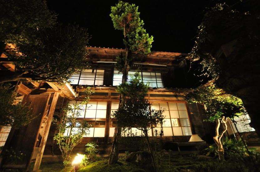 建築士の家の部屋 坪庭