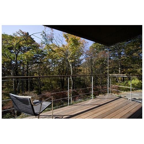 吉ヶ沢の山荘の部屋 テラス