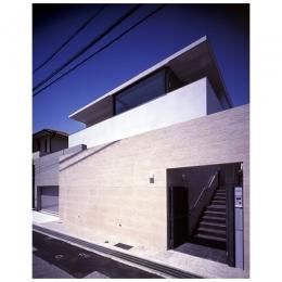 青山台の家 (外観2(正面道路から))