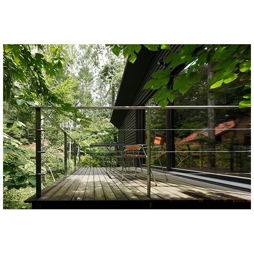 三笠の山荘の部屋 テラス1