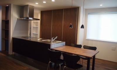 LIGHT COURT HOUSE (ダイニングキッチン)
