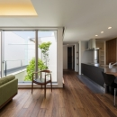 Mitsutoshi Okamotoの住宅事例「LIGHT COURT HOUSE」
