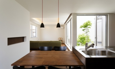 LIGHT COURT HOUSE (ダイニング)